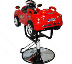 Red Kids Desk by Children Race Car Hydraulic Child Barber Chair Styling Beauty