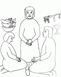 hail mary coloring page coloring home