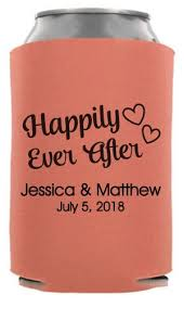 koozies for weddings twc 6832 happily after fairy tale wedding can coolers