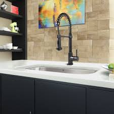 matte black pull out spray kitchen faucet vigo final kitchen