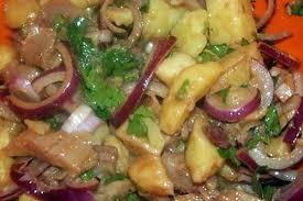 cuisiner le hareng recette de salade tiede pommes de terre harengs fumes