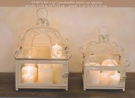 porta candele candelieri portacandele contenitori in ferro battuto hancock