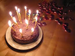 blowing out candles on birthday cakes can spread flu virus