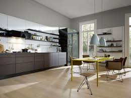 farbe küche wohnen mit farbe konzentration auf grau weiß und schwarz in der