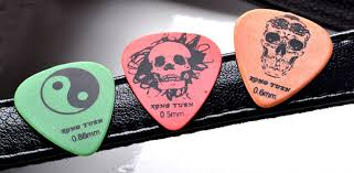 dull picks guitar colorful different size wholesale