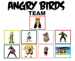 Angry Birds Meme - my angry birds team meme by foxprinceagain on deviantart