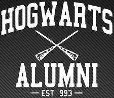 hogwarts alumni bumper sticker wingardium leviosa spell harry potter tshirt by jabragoodsshop