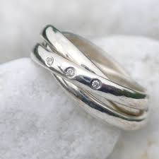 russian wedding rings russian wedding ring in sterling silver size j lilia nash