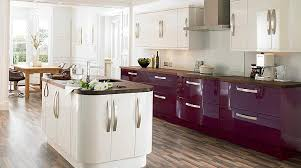 High Gloss Kitchen Cabinets by High Gloss Kitchen Cabinet Doors U0026 Fronts Would Do Dark Red Or