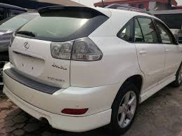price of lexus rx 350 nairaland 2005 lexus rx330 sport price 3 7m negotiable autos nigeria