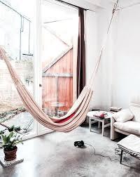 floating indoor hammock design ideas for living room