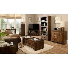 living room wood furniture goa living and dining range dark view all george at asda
