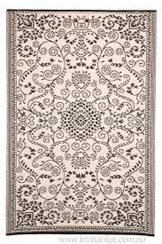 Recycled Plastic Rug Outdoor Rug Recycled Plastic Murano Black And White U2013 Floorsome