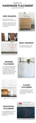 how to measure cabinet pulls hardware placement guide studio mcgee hardware and studio