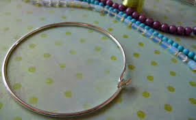 tiffany wire bracelet images Wire lashing an easy way to cover your jewelry with beads or jpg
