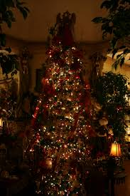 tree white lights lights decoration