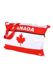Canadian Flag Running Shorts Monton Cycling Musette Bag For Team Custom Cycling Feed Bag