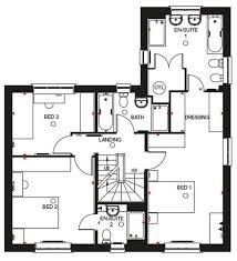 Everybody Loves Raymond House Floor Plan by Barratt Homes Faringdon Floor Plan