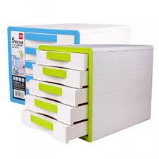 Desktop Filing Cabinet Deli 9770 5 Drawer Desktop File Cabinet Without Lock