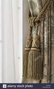 curtain tie back stock photos u0026 curtain tie back stock images alamy