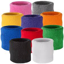 sweatbands for color plain wrist sweatbands bulk wholesale pricing