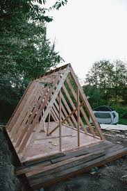 uo journal how to build an a frame cabin designed built