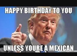 Funny Birthday Meme Generator - donald trump happy birthday meme generator whereismyvote info