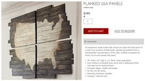 pottery barn us map metal united states map wall wooden