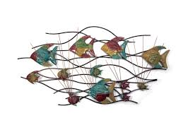 Nautical Metal Wall Art Great by Wall Decor Metal Fish Art Pictures To Pin On Pinterest Thepinsta