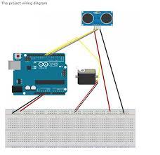 how to make a simple arduino ultrasonic radar system