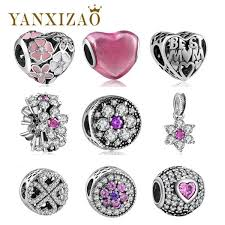 silver necklace diy images 10 styles charm beads fit original pandora bracelet pendant jpg