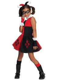 girls harley quinn tutu costume