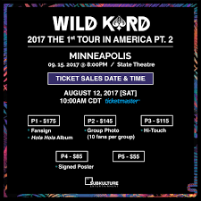 kard returns with part 2 of wild kard 2017 the 1st tour in america