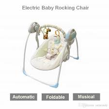 2018 electric baby bouncers electric rocking chair kid cradle