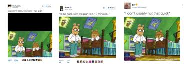 Arthur Dw Meme - pbs characters arthur and dw trending on twitter because of incest