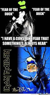 Iron Maiden Memes - fear of the duck dolan know your meme