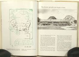 California Ranch House Sunset Western Ranch Houses Cliff 1940s House Plans California