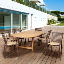 amazonia renaissance 9 piece patio dining set rennaissance set