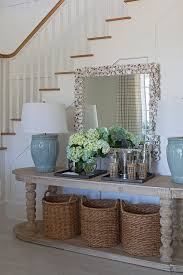 dining room decorations foyer entry table ideas driftwood foyer