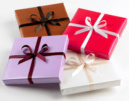 gift wrapped boxes box of popular chocolates florist gardens