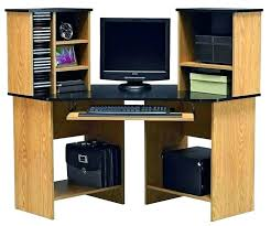 Bush L Shaped Desk With Hutch Bush Computer Desk With Hutch Medium Size Of Office Furniture