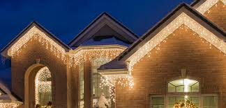 White Icicle Lights Outdoor Most Popular Led Icicle Lights Png W 728