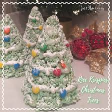 Great Hostess Gifts Rice Krispies Christmas Trees 3 Ingredient Recipe Just Plum Crazy