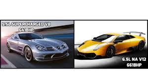 Lamborghini Murcielago Gtr - mercedes slr mclaren 722 vs lamborghini murcielago lp670 4 sv
