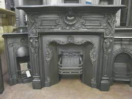 fireplace creative fitting a cast iron fireplace insert