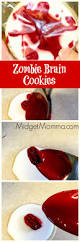 gross foods for halloween party best 25 zombie cookies ideas on pinterest scary halloween