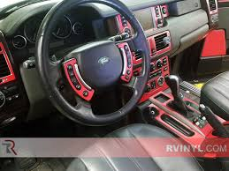 matte blue range rover land rover range rover 2003 2006 dash kits diy dash trim kit