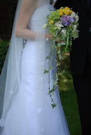 Wedding Flowers Cork Natural Cascade Bouquet Wedding Flowers By Fosters Flower Shop