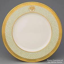 House Plate George W Bush White House China Laura Bush White House China
