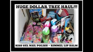 huge dollar tree haul and i found the kiss gel nail polish